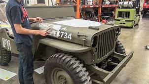 Kid Turns His Ratty Jeep CJ3A Into Willys MB Video