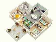 3 bhk house plan 7 best 3 bedroom house plans in 3d you can copy