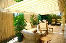 Balkon Sichtschutz Bambus - 25 bamboo fencing ideas for garden terrace or balcony