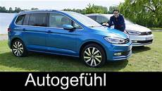 all new volkswagen vw touran review test driven mpv