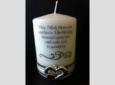 Nikah candle (Muslim wedding) personalised   Candles