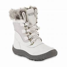 roebuck co s addie winter weather boot white