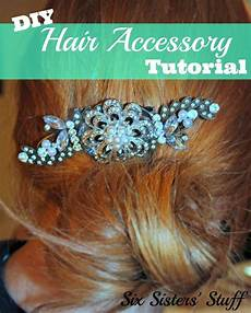 this diy hair accessory tutorial from sixsistersstuff com