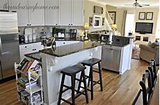 Kitchen Island Add On Ideas by A Recipe For Adding Storage To Your Kitchen Island