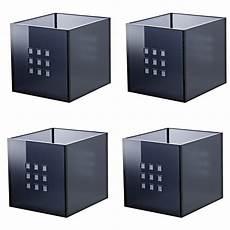 kallax regal einsatz ikea lekman einsatz box fach dunkelgrau f 252 r expedit kallax regal 4 st 252 ck neu ebay