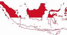 Gambar Peta Indonesia Merah Putih Peta