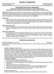 food service manager resume printable planner template