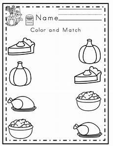 preschool printables thanksgiving printable no prep