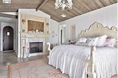 schlafzimmer romantisch modern hill country shabby chic style bedroom