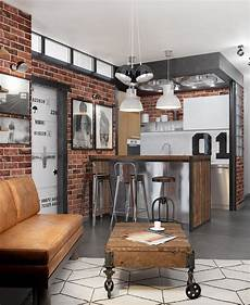 Küche Industrial Style - how to design industrial style bachelor pads 4 exles
