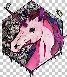malvorlagen roboter unicorn malbild