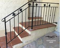 re escalier rambarde fer forge alpes maritimes 06