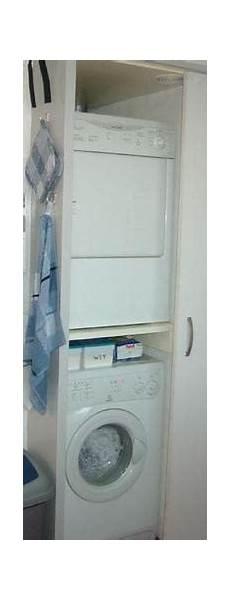 Wie Kann Einen Trockner Auf Eine Schmale Waschmaschine