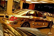 check out the complete mercedes made from real gold