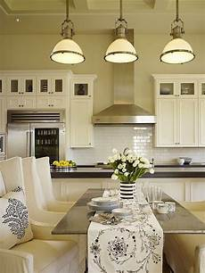 amazing kitchen design with soft yellow walls paint color large country industrial pendants