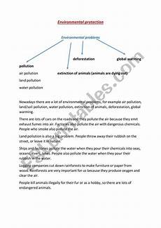 nature protection worksheets 15140 environmental protection esl worksheet by babszi