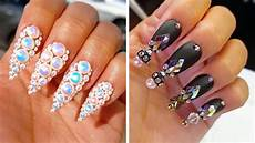 creative acrylic nail art designs tutorials youtube