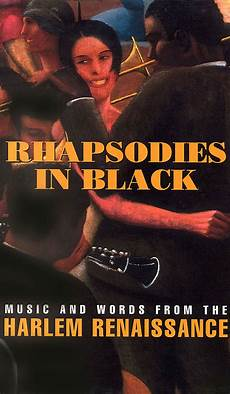 in black rhapsodies in black and words from the harlem