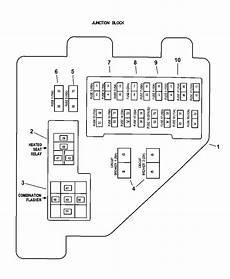 97 dodge ram fuse box diagram 56007067 genuine dodge relay
