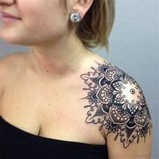 75 Trendy Mandala Tattoos For Shoulder