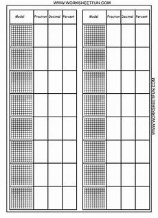 decimal square worksheets 7298 convert between percents fractions and decimals 8 worksheets printable worksheets