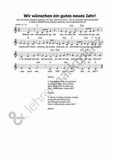 Neujahr Malvorlagen Chords Lied Wir W 252 Nschen Ein Gutes Neues Jahr Lied Zu Neujahr