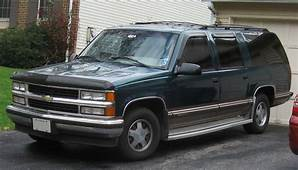Chevrolet Suburban GMT400jpg  Wikimedia Commons
