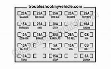 1993 Chevy Silverado Fuse Box Diagram Pictures To Pin On