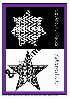 Sterne Malvorlagen Englisch Lesetraining Adventskalender In Sas Als Farbige