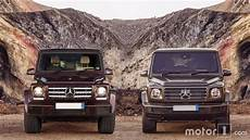 2019 mercedes g class see the changes side by side