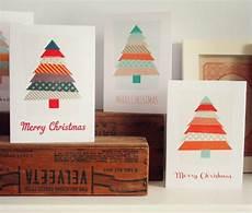 weihnachtskarten selber basteln originelle ideen zum