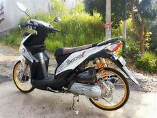 Modif Motor Beat Fi by Modifikasi Honda Beat Fi Velg 17 Warna Putih Gambar