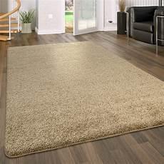 teppich de hochflor teppich waschbar einfarbig beige teppich de