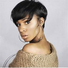 Hairstyles For Black With Relaxed Hair