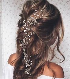 Bijoux De Cheveux Tresse Photo Coiffure Mariage Une Tresse Cascade