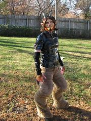 Sexy satyr costume