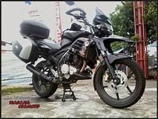 Modifikasi Vixion Touring by 100 Gambar Modifikasi Motor Yamaha New Vixion Ala Touring