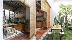 9 Desain Dapur Terbuka Di Halaman Belakang Rumah Bebas
