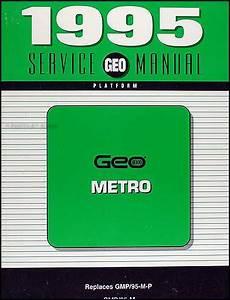 car owners manuals free downloads 1995 geo metro spare parts catalogs 1995 geo metro original repair shop manual 95 chevy service book original oem ebay