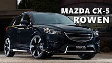 mazda cx 5 styling kit by rowen