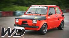 racing a maluch fiat 126 wheeler dealers trading up