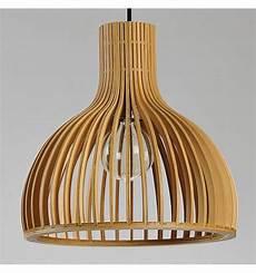 suspension style scandinave suspension scandinave design avec abat jour en lamelles de bois erika