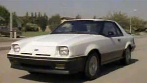&187 1985 Ford EXP Manufacturer Promo