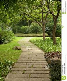 chemin bois jardin chemin de jardin photographie stock image 26972162