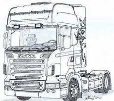 Ausmalbilder Lkw Scania Scania R Scania Desenhos De Carros Caminh 227 O Desenho