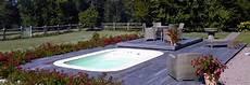 micro piscine bois micro piscine avec terrasse coulissante