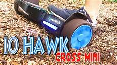 io hawk cross mini der ultimative test hoverboard