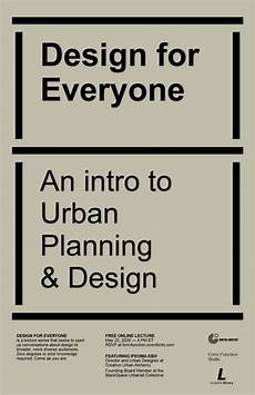 design for everyone an intro to urban planning design