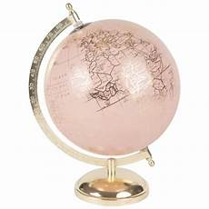 Pink And Gold Globe Clemence Rosy Maisons Du Monde