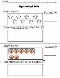 counting and drawing equivalent sets by kindergarten kreative tpt